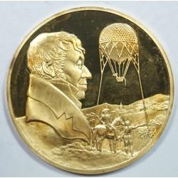 Médaille Vermeil – Premiers aérostiers militaires révolution Française