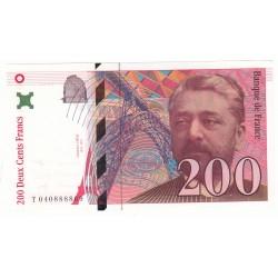 200 FRANCS EIFFEL 1996 NEUF Fayette 75.3a