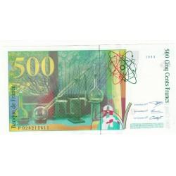 500 FRANCS PIERRE ET MARIE CURIE 1994 NEUF Fayette 76.1