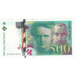 500 FRANCS PIERRE ET MARIE CURIE 1994 SPL Fayette 76.1