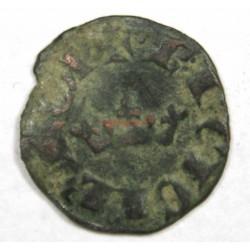Obole coronat CHARLES II D' ANJOU
