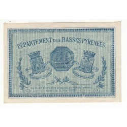1 FRANC 1920 CHAMBRE DE COMMERCE DE BAYONNE