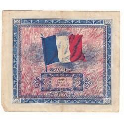 2 FRANCS DRAPEAU 1944 Série 2