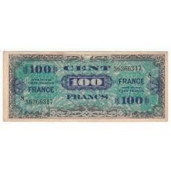 100 FRANCS FRANCE 1944 Série 8
