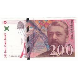 200 Francs EIFFEL 1996 P/NEUF Fayette F75.3a L'ART DES GENTS NUMISMATIQUE AVIGNON