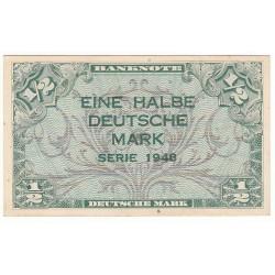 1 Halbe Deutsche Mark Série 1948
