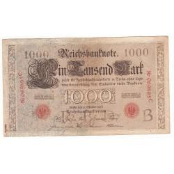 1 000 Mark 1 Octobre 1903 TTB