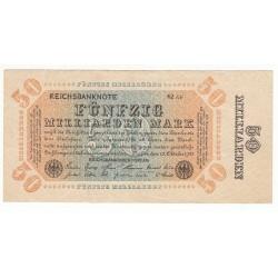 50 MILLIARDEN MARK 10 OCTOBRE 1923