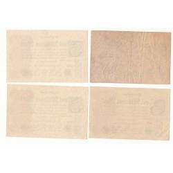 LOT DE 20 REICHSBANKNOTE 2 MILLIONEN MARK 1923