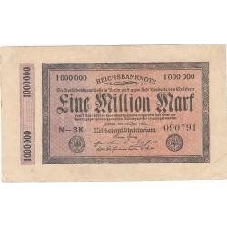 1000000 MILLION MARK 1923