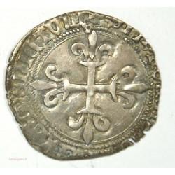Gros blanc de Roi de Louis XI - Lyon