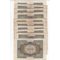 LOT 20 REICHSBANKNOTE  100 MARK 1920