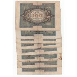 LOT 24 REICHSBANKNOTE  100 MARK 1920