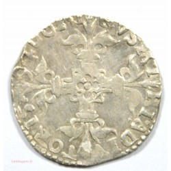 RARE Pays-Bas Espagnol, Philippe II - 1/20ème d écu - Tournai, 1594