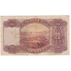 ALBANIE - 20 FRANKA ARI ND1945  TB+
