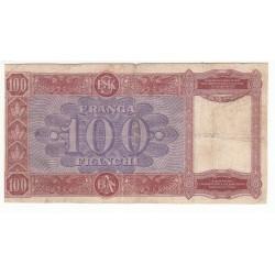 ALBANIE 100 FRANCHI NJIQIND FRANGA 1839