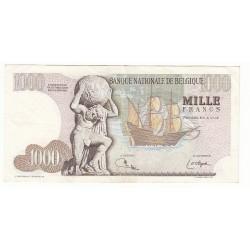 BELGIQUE 1000 FRANCS 1975