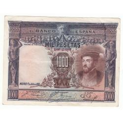 ESPAGNE 1000 PESETAS 1 JUILLET 1925