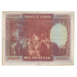 ESPAGNE 1000 PESETAS 1928