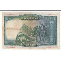 ESPAGNE 100 PESETAS 1931