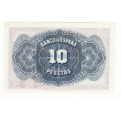 ESPAGNE 10 PESETAS 1935 NEUF