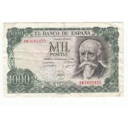 ESPAGNE 1000 PESETAS 1971