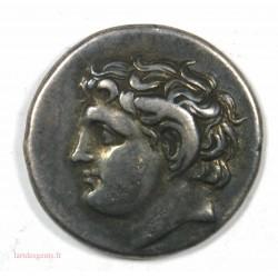 Didrachme CYRENE 308-277 av. J.C. Très beau style
