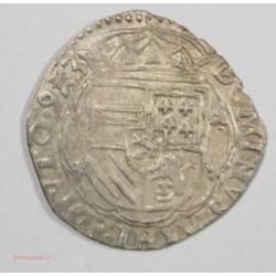 PAYS-BAS ESPAGNOL - TOURNAI -Double patard 1593 - PHILIPPE II D'ESPAGNE -