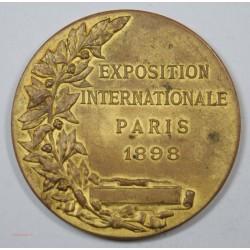 Médaille EXPOSITION INTERNATIONALE PARIS 1898, Pas courante...