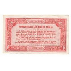 1 Franc Chambre de Commerce d'Agen 1917