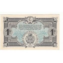 1 Franc Chambre de Commerce Blois 1918 ANNULE  p/NEUF