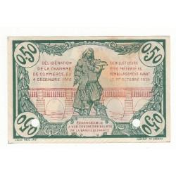 50 Centimes Chambre de Commerce Béziers 1916 SPECIMEN NEUF
