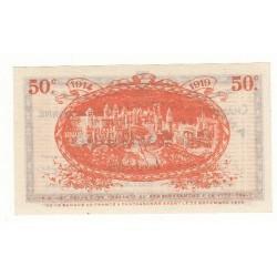 50 Centimes Chambre de Commerce de Carcassonne ANNULE NEUF Pirot 4