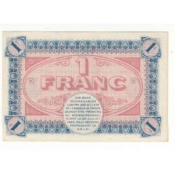 1 Franc Chambre de Commerce Chalon s/Saône ANNULE NEUF Pirot 15