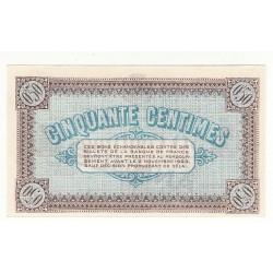 50 Centimes Chambre de Commerce Chalon s/Saône ANNULE NEUF Pirot 17