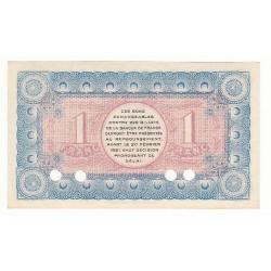 1 Franc Chambre de Commerce Chambéry SPECIMEN NEUF Pirot 6