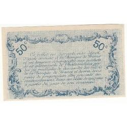 50 Centimes Chambre de Commerce Chateauroux NEUF