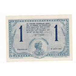 1 Franc Chambre de Commerce Chateauroux NEUF Pirot 26