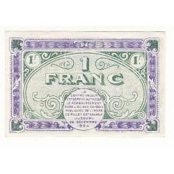 1 Franc Chambre de Commerce Chateauroux NEUF Pirot 21