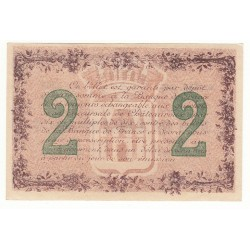 2 Francs Chambre de Commerce Chateauroux NEUF Pirot 4