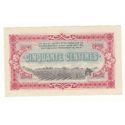 50 Centimes Chambre de Commerce Cognac NEUF ANNULE Pirot 2
