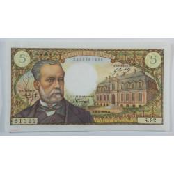 5 Francs PASTEUR 6-2-1969 SUP+