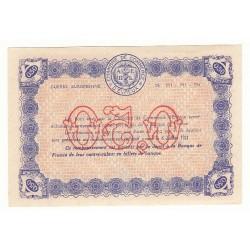 50 Centimes Chambre de Commerce d' Evreux NEUF Pirot 8