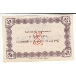 2 Francs Chambre de Commerce du HAVRE P/NEUF Pirot 30
