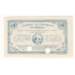 50 Centimes Chambre de Commerce de MARSEILLE  NEUF SPECIMEN Pirot 23
