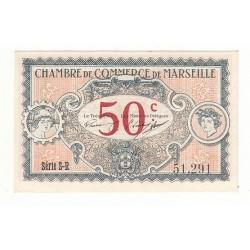 50 Centimes Chambre de Commerce de MARSEILLE  NEUF  Pirot 67