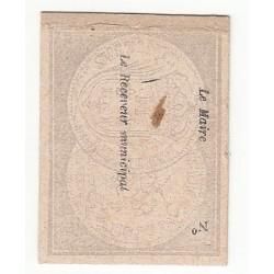 1 Franc billet de nécessité de MONTARGIS P/NEUF 1871