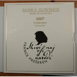 Série en Euros 2007 SLOVENIE Qualité BU