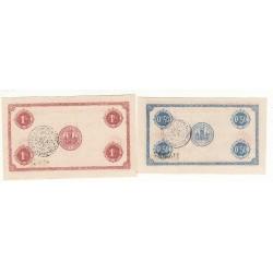 Lot de 2 Billets Chambre de Commerce MONTLUCON Pirot 61 et 63