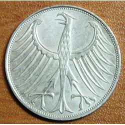 Germany, Allemagne 22 X 5 MARK Republik 1951-1973